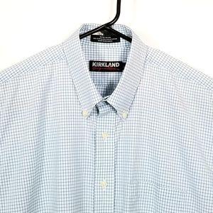 Kirkland Signature Non-Iron Shirt L X-Long